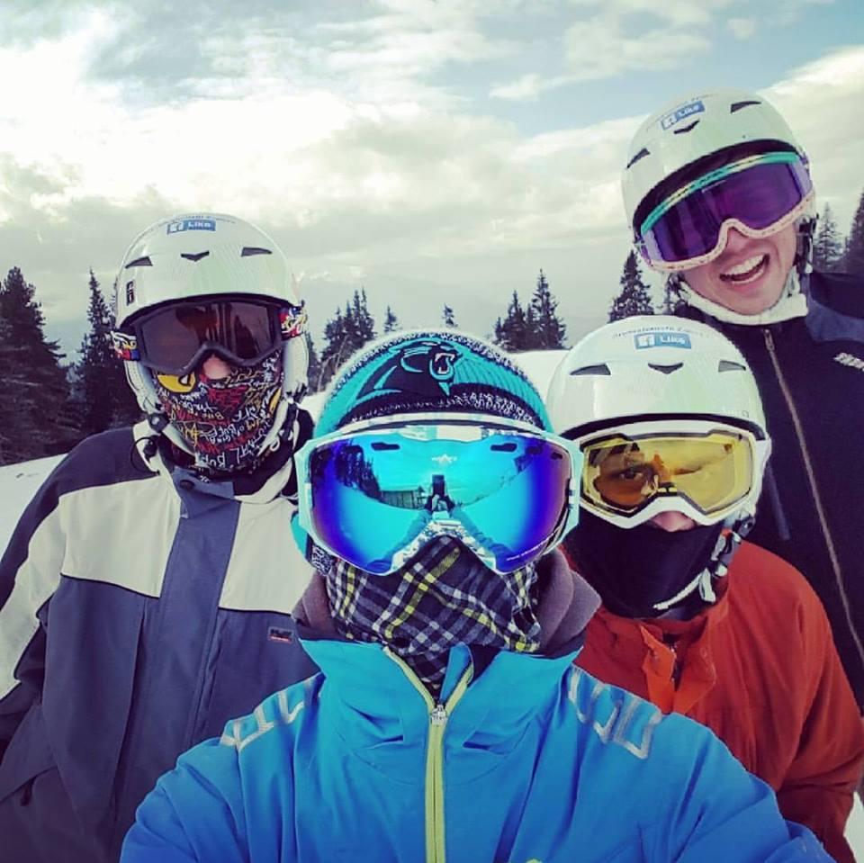Gap year snowboarding instructing
