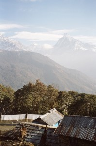 Volunteer house view in Nepal