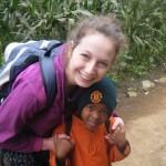 Frances on her gap year in Tanzania