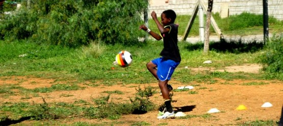 Football coaching in townships