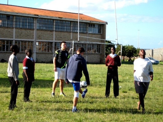 Football coaching gap year South Africa