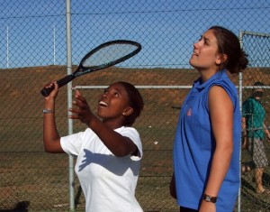 Coaching tennis in South Africa