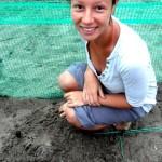 Turtle volunteer in Costa Rica