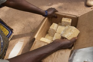 Making Balanites soap