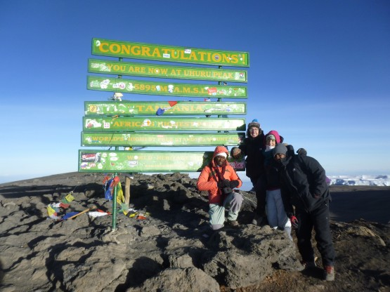 Climbing Mount Kilimanjaro