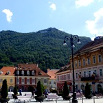 Beautiful Brasov square