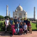 2019 group by Taj Mahal