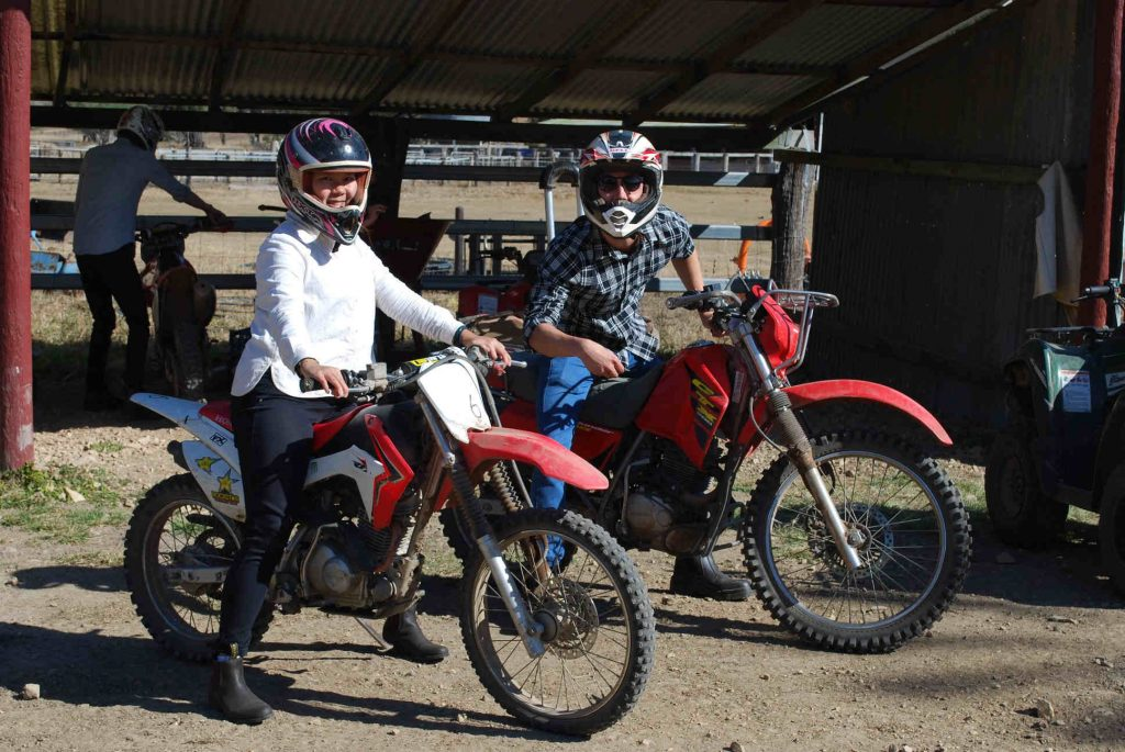 Learning to ride motorbikes in Australia