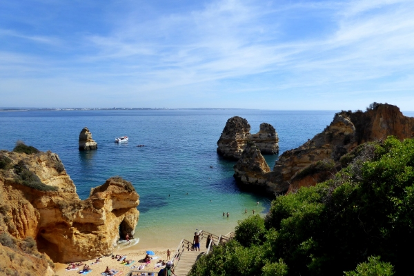 Lagos bay-Portugal