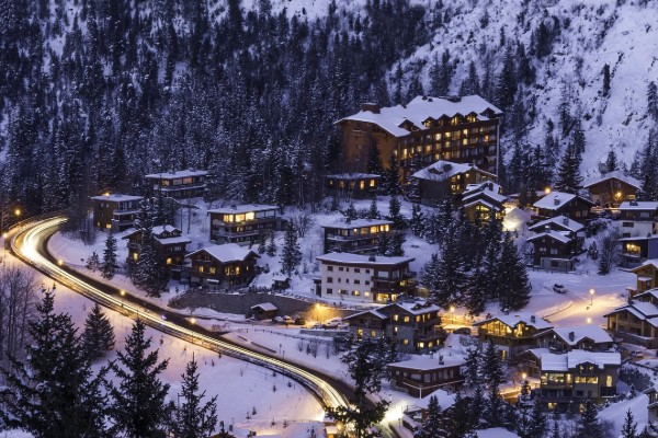 Courchevel Ski Town