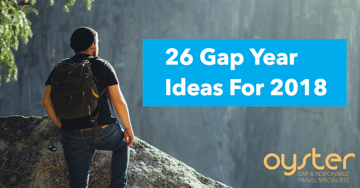 Read our top 26 gap year ideas
