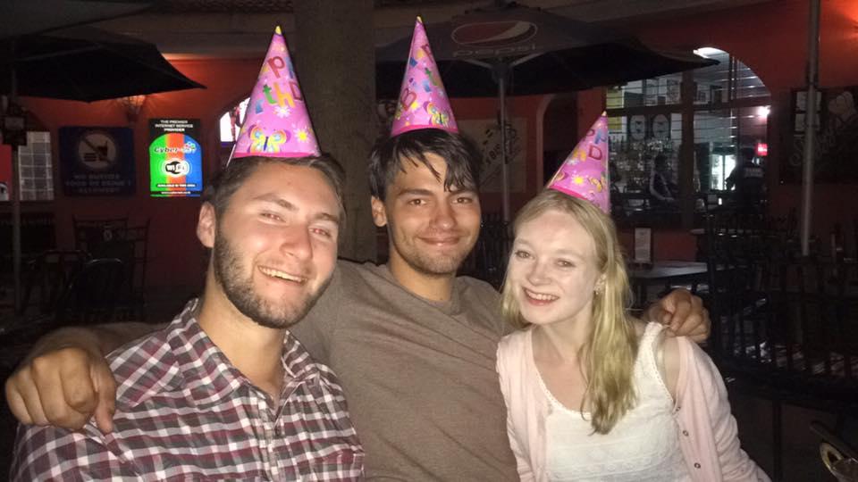Abbie's birthday celebrations in Tanzania