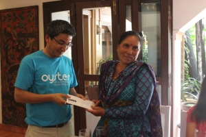 Basant donating funds