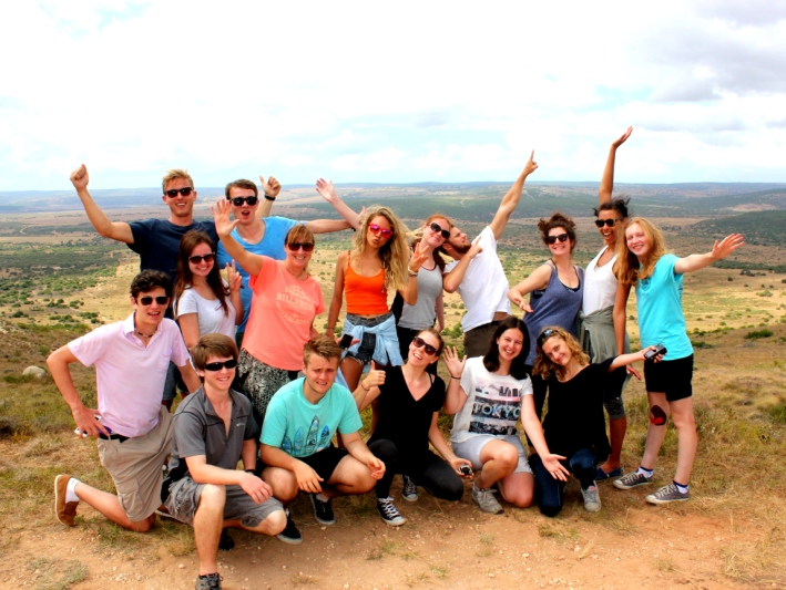 Volunteers enjoying their Garden Route Trip in South Africa