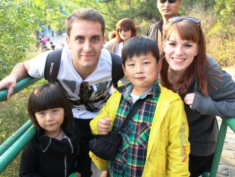 backpacking and meeting new people in China