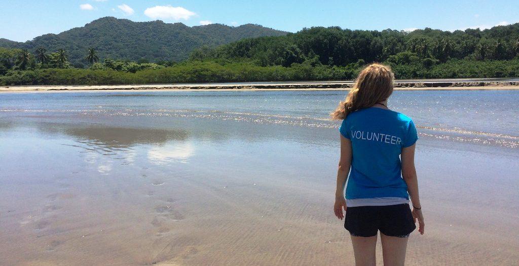Oyster volunteer