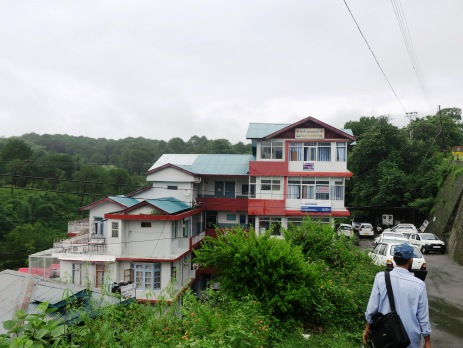 Karan hospital in Palampur, India
