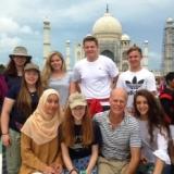 Medical interns at Taj Mahal