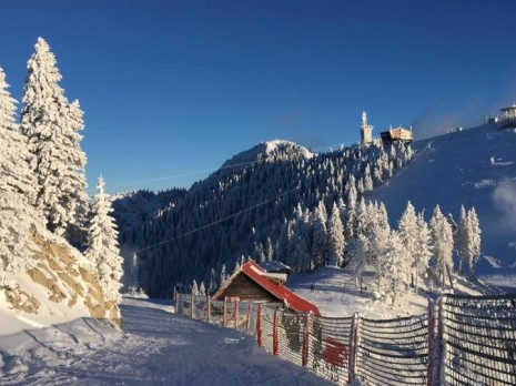 Working overseas as a aid ski instructor in Romania
