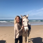 Veterinary intern Sara gets hands on with horses