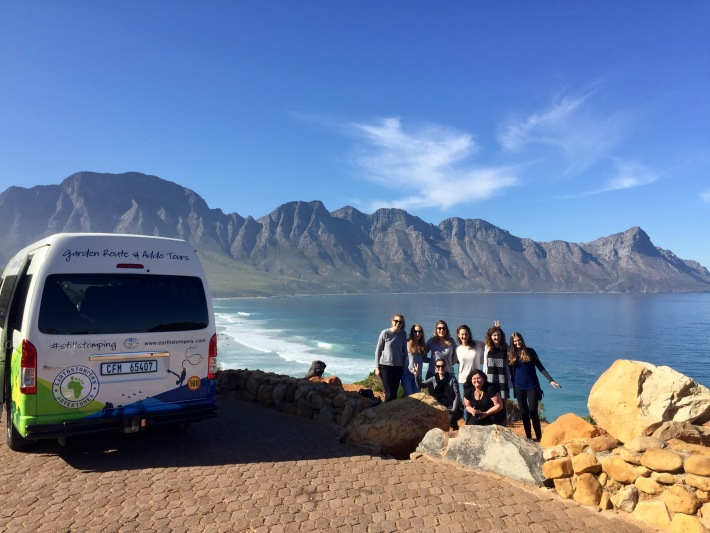 Enjoying the Garden Route Adventure tour
