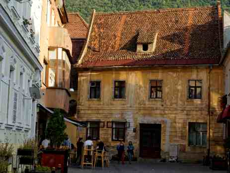 Explore medieval streets in Romania