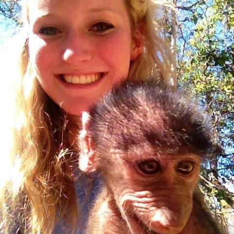 Eleanor and Monkey