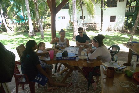Downtime for kids in Costa Rica