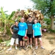 Family volunteering in Thailand at a wildlife sanctuary