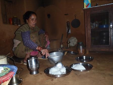 My host family's kitchen, 2011
