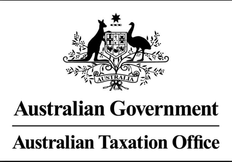 The tax office logo for Australian Government website