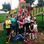 Childcare volunteering in Romania