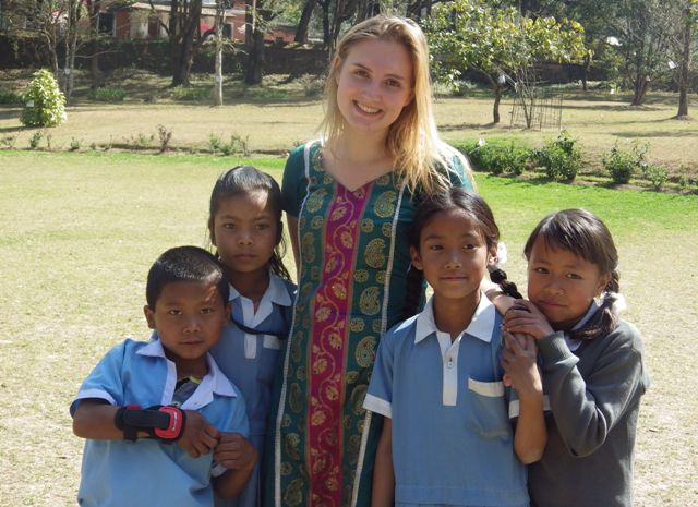 gap year volunteer in Nepal