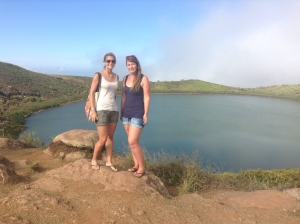Conservation volunteering in the Galapagos
