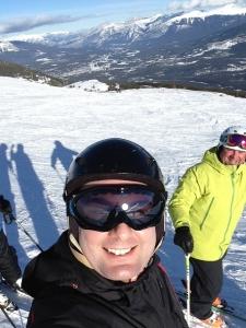 Jon Skiing at Marmot Basin