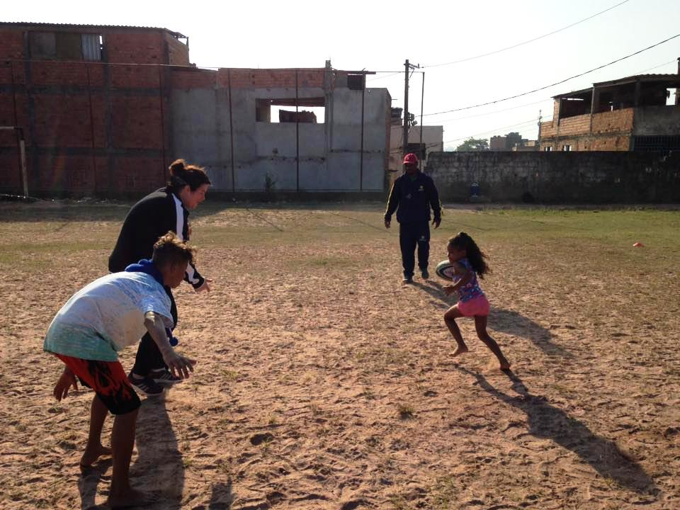 sport coach volunteering programme in Brazil