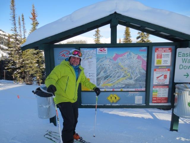 Paul at Marmot Basin