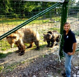 Meet Anne, the Destination Manager for Romania, who spent 12 weeks volunteering at the bear sanctuary