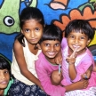 Street children program in India