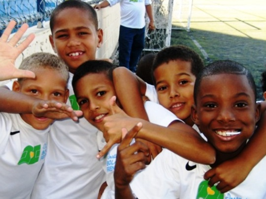 Rio BPF Kids waving