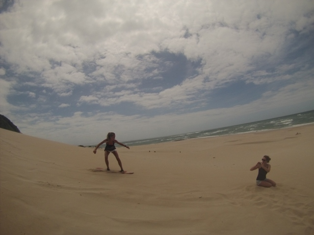 Sandboarding in South Africa