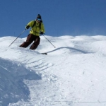 Moguls in Val d'Isere