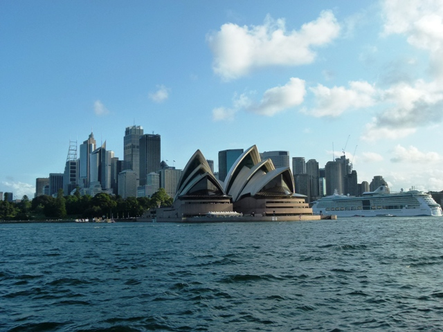 Sydney from the water