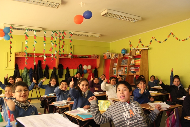 Teaching in Chile