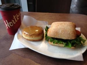 Tim Hortons lunch
