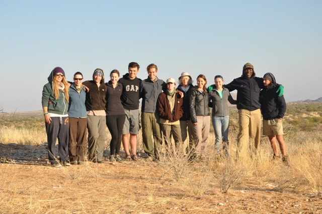 Namibia elephant tracking July update