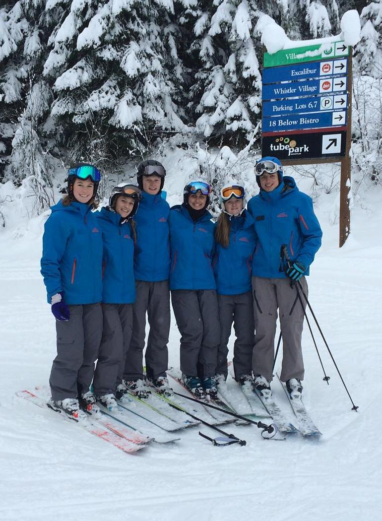 Whistler Instructors ready for work