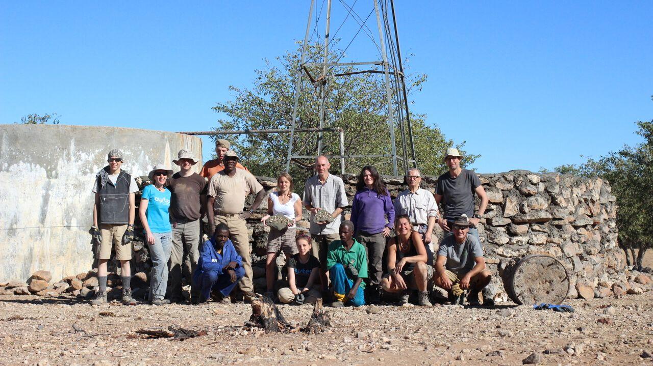 Volunteering with elephants in Namibia