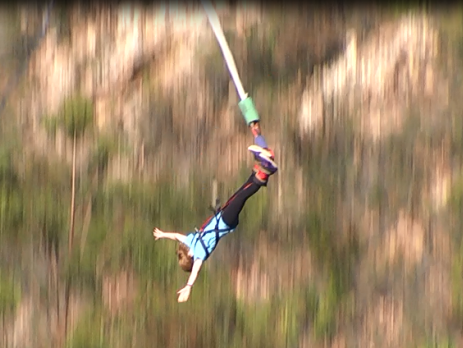 Jump off the highest bungee jump in the world in South Africa