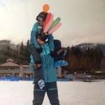 Ski instructor in Canada